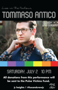 07-02 Tommaso Antico at Fox and Crow Pulse fundraiser