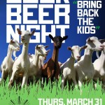 THR 03-31 Bock Beer Night at Barcade : Goats of the Cemetery Fundraiser
