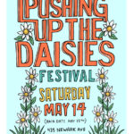 SAT 05-14 5th Annual Pushing Up the Daisies Festival at Historic JC & Harsimus Cemetery