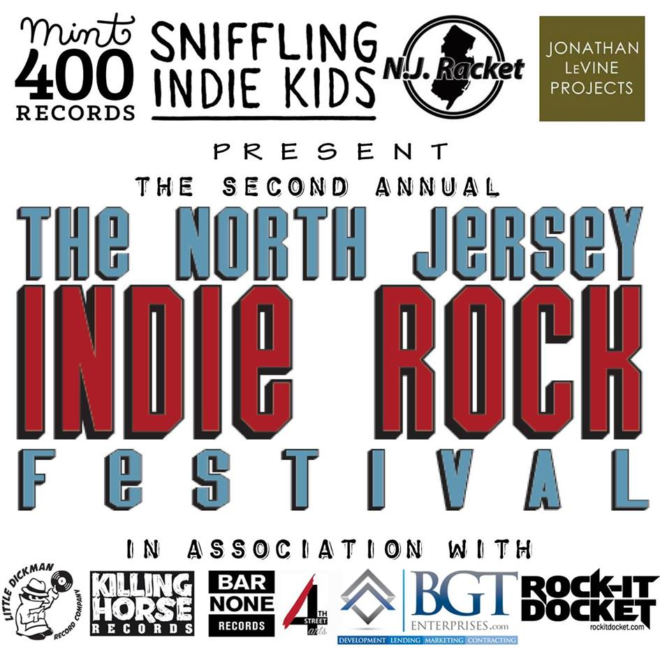 SAT 09-23 North Jersey Indie Rock Festival at Cathedral Hall