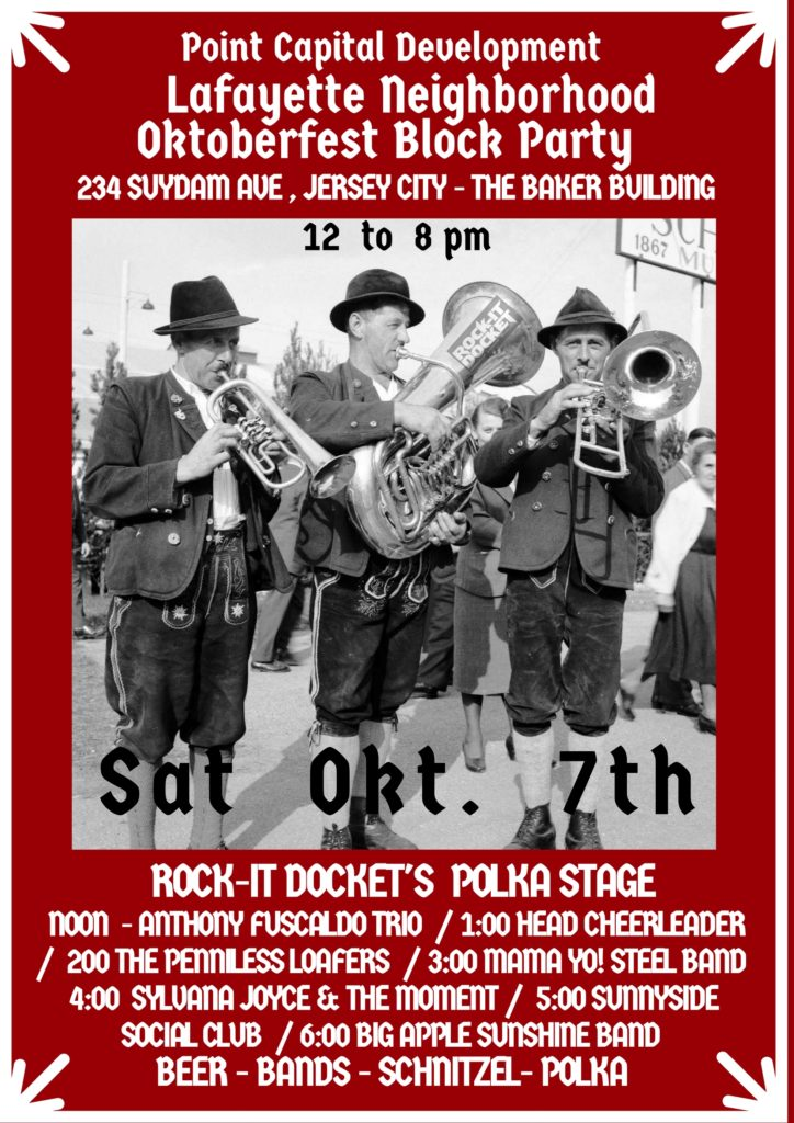 SAT 10-07 Oktoberfest Block Party by Point Capital