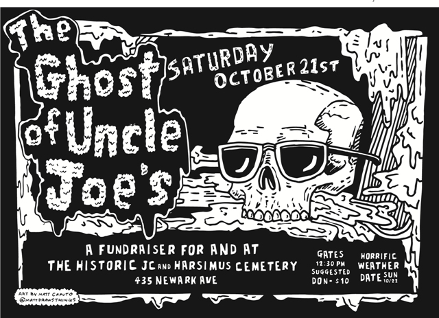 SAT 10-21 The Ghost of Uncle Joe's – Halloween Costume Ball & Fundraiser