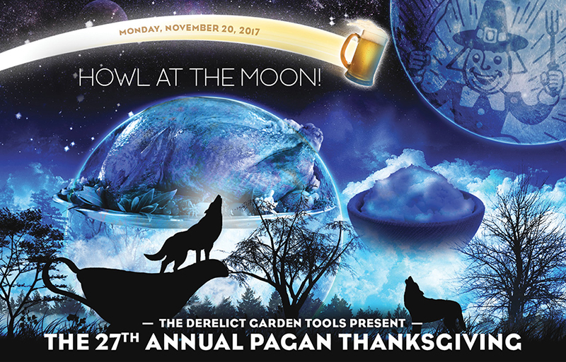 Mon Nov 20th : The 27th Annual Pagan Thanksgiving Feast in Montclair