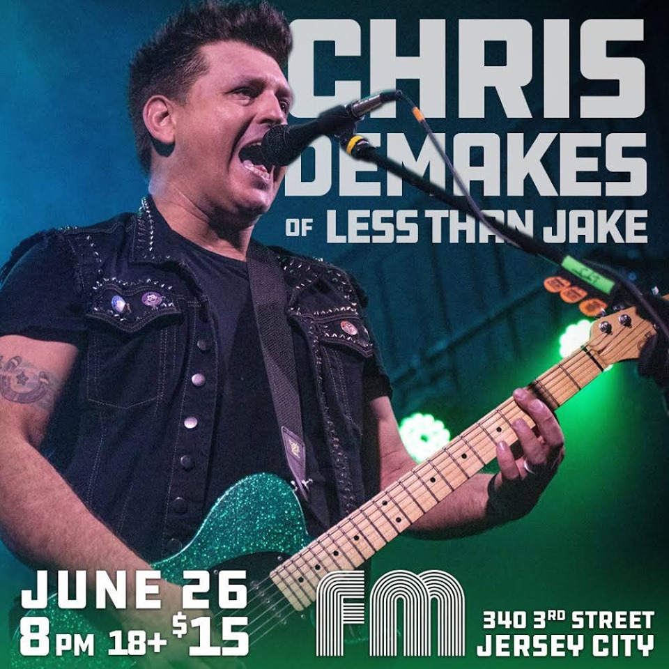 Chris Demakes - Less Than Jake - Jersey CIty